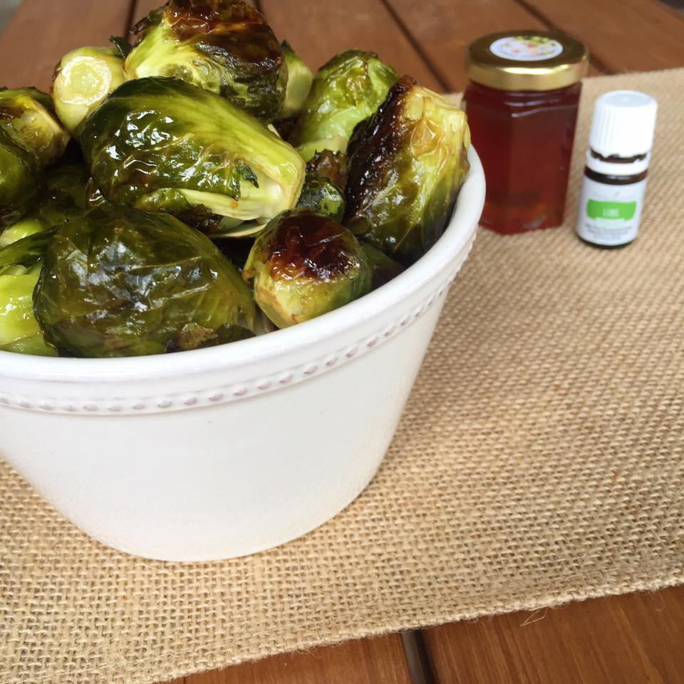 Honey Lime Brussel Sprouts