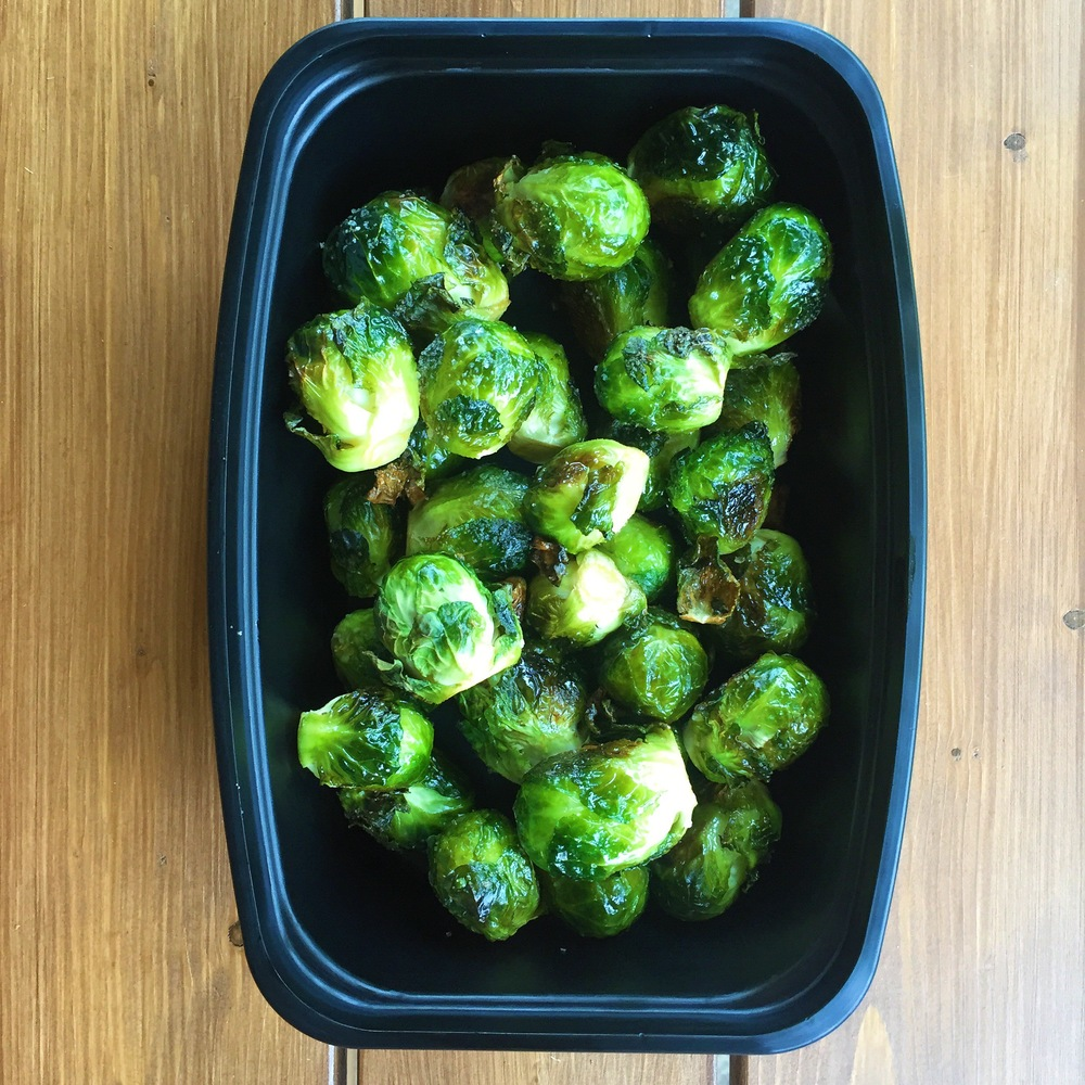 Maple Sea Salt Brussel Sprouts