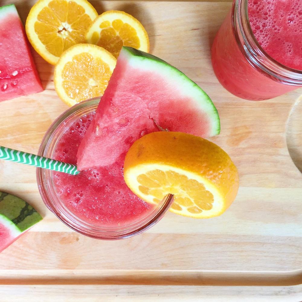 Orange Watermelon Slush