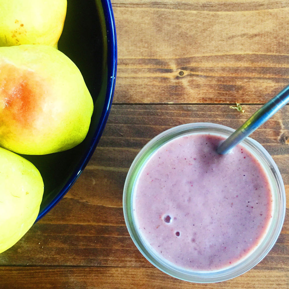 Pear Berry Smoothie Recipe