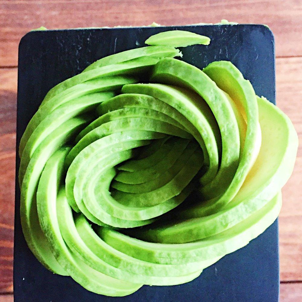 avocado rose