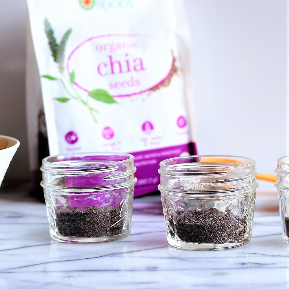 Leftover Smoothie Chia Pudding