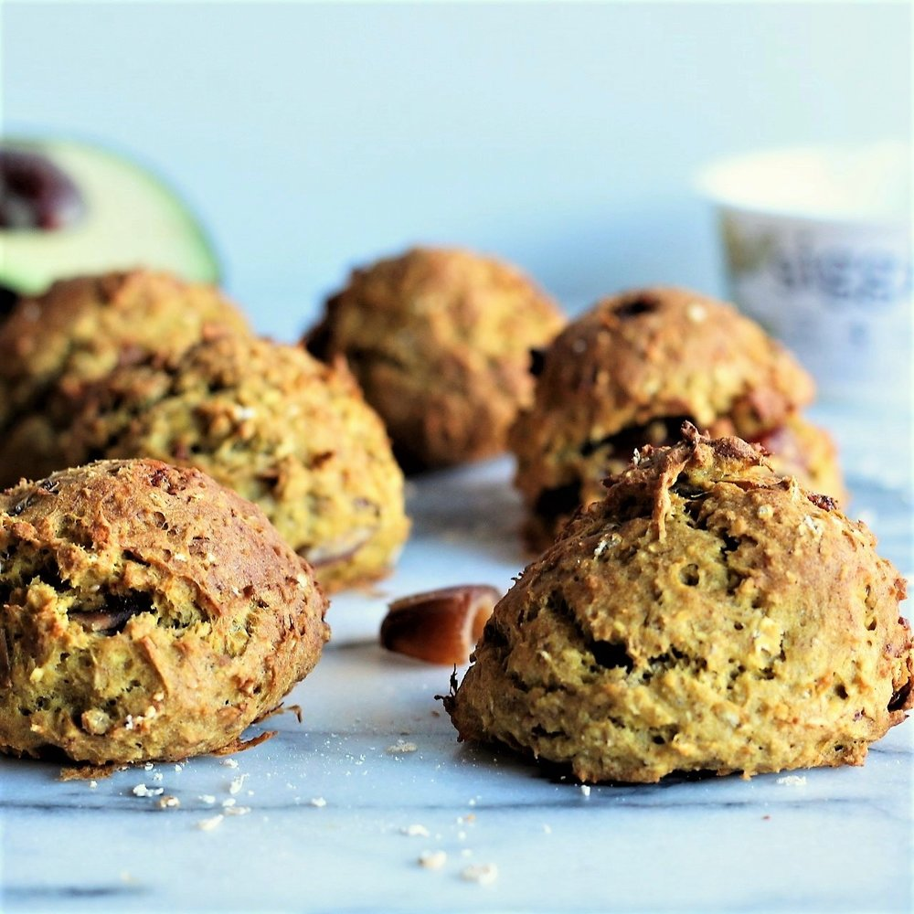 Avocado Banana Cookies