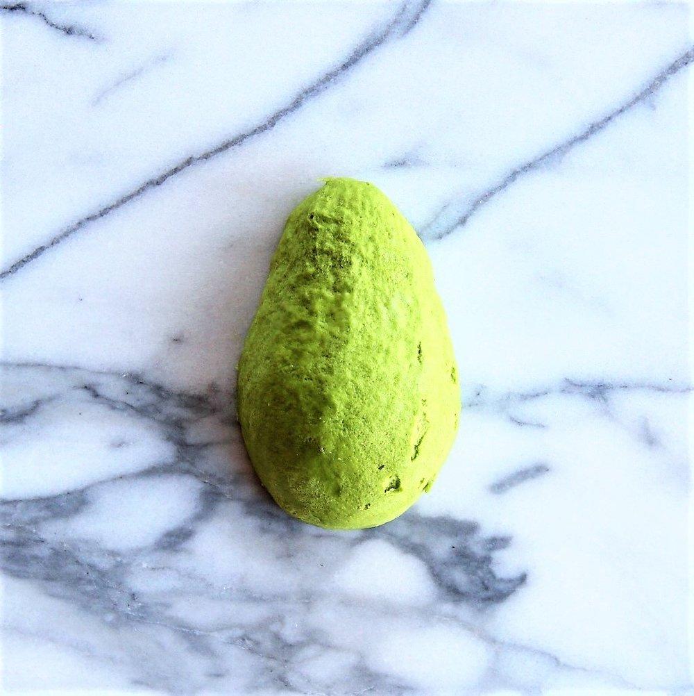 Peel the avocado.