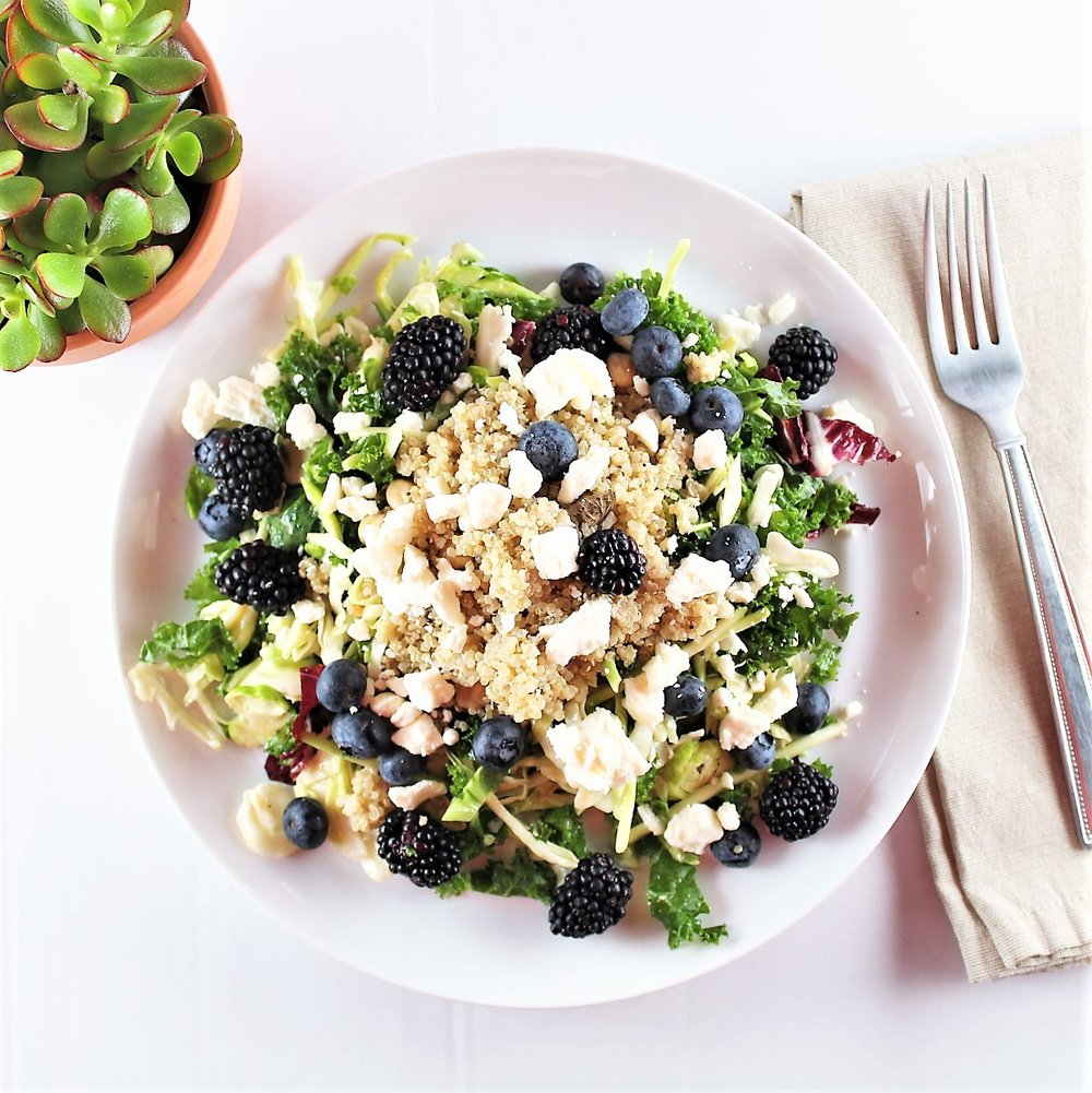 Grains & Berries Summer Salad