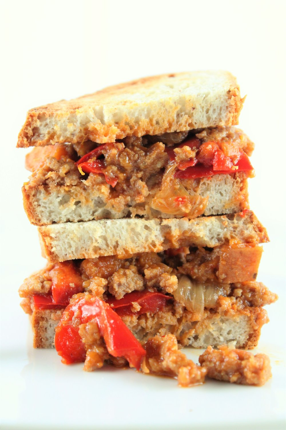 turkey veggie sloppy joes