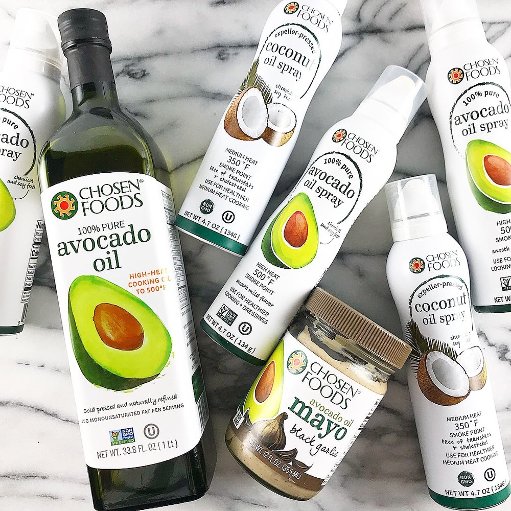 Chosen Foods Avocado Oil - The perfect hostess gift! Premium, quality avocado oil and avocado oil spray. Also great for the foodie, amateur chef, and health conscious friend in your life.