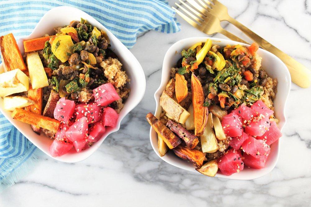 superfood poke bowls