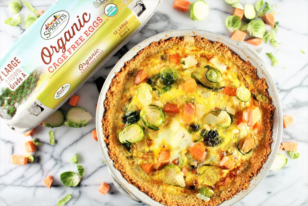 Flourless Quinoa and Vegetable Quiche