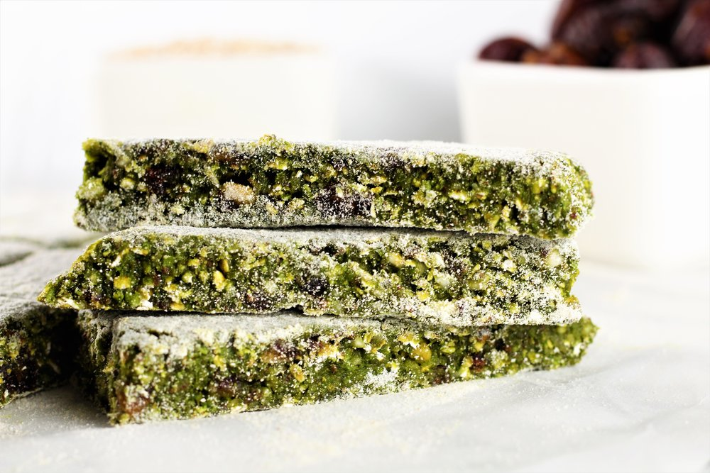 No-Bake Green Energy Bars