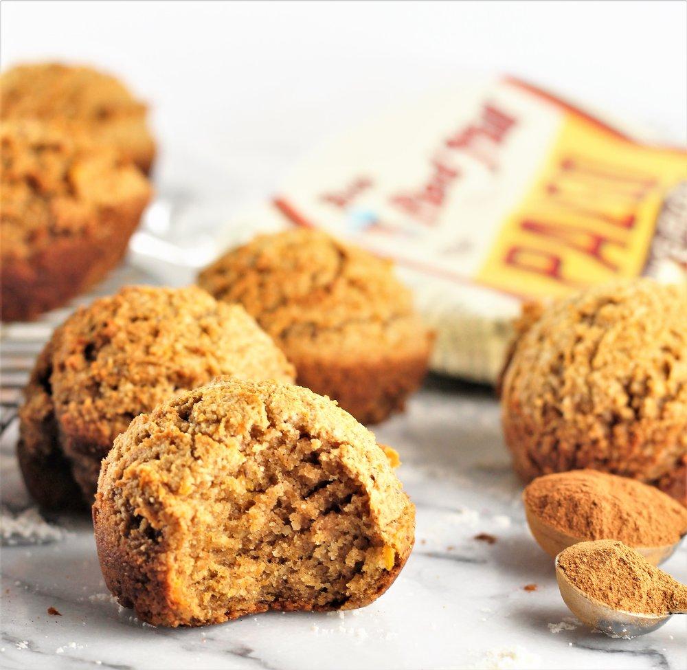Paleo Sweet Potato Spice Muffins
