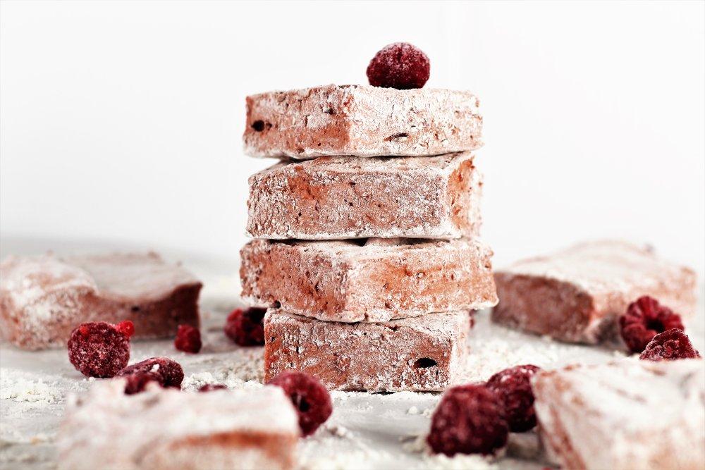raspberry fluff marshmallows