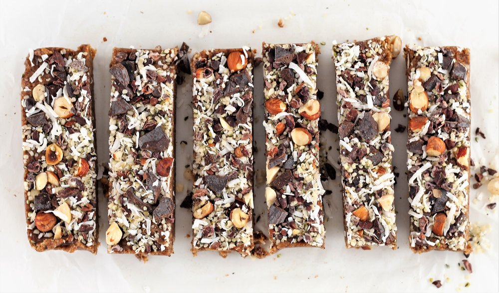 Grain Free Hazelnut Magic Bars