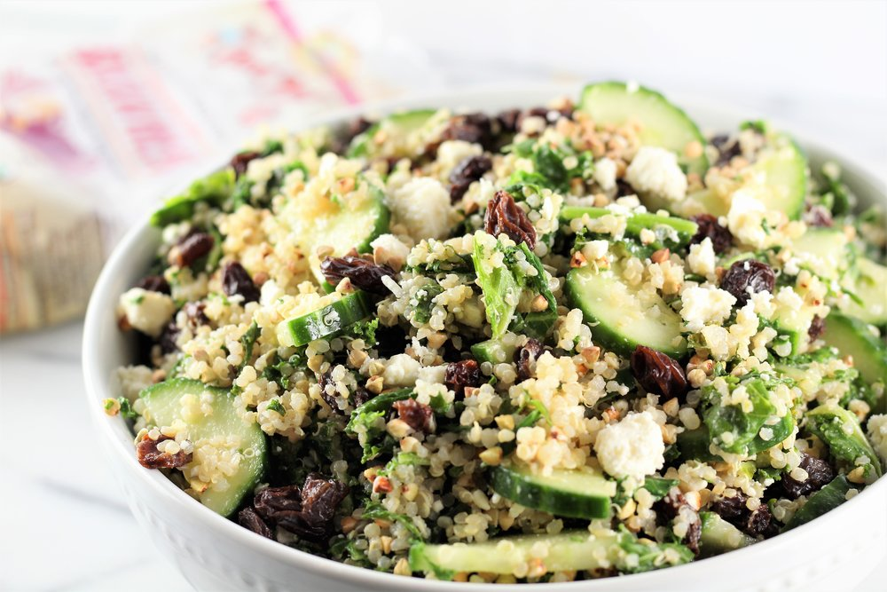 Chilled Ancient Grain and Cucumber Salad