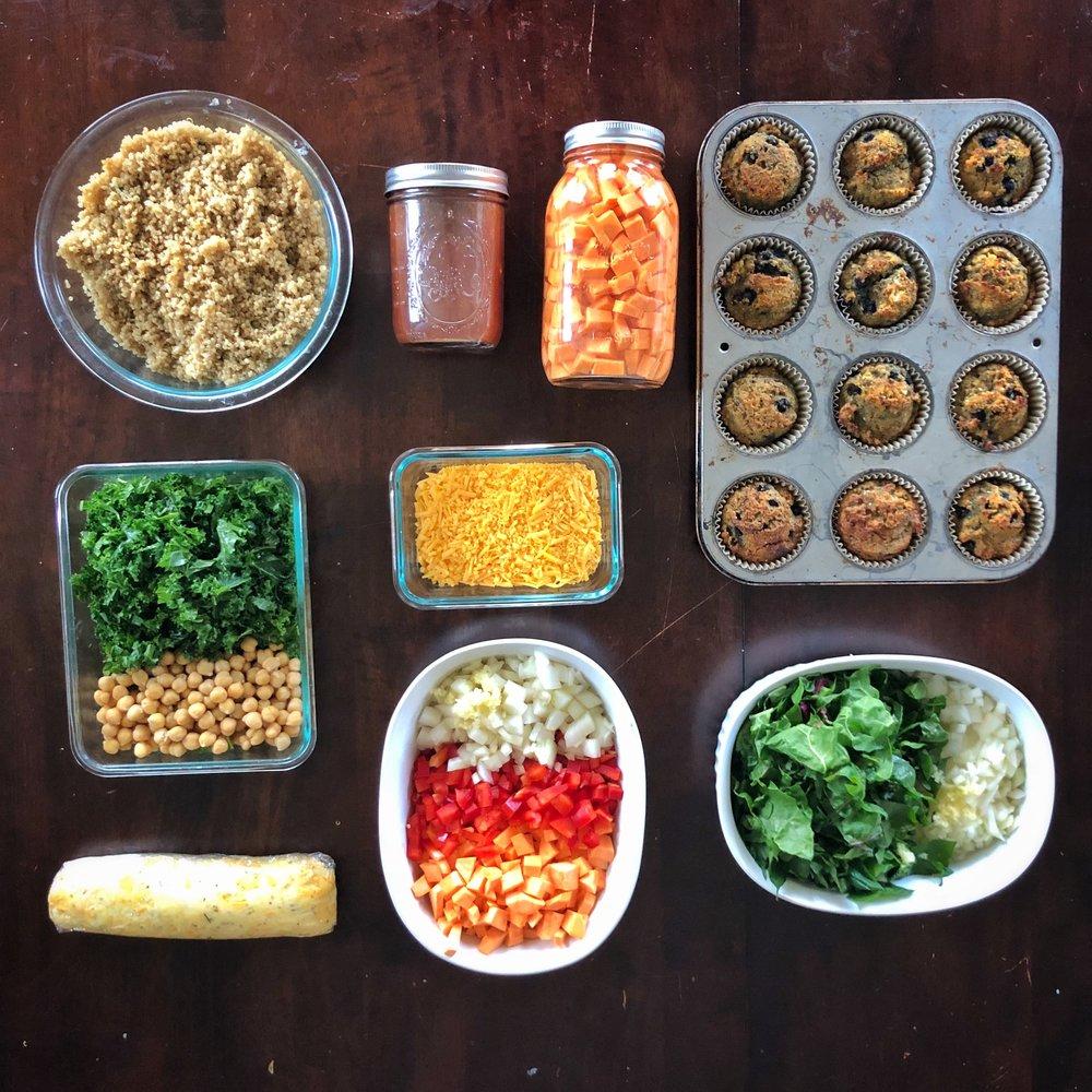 step-by-step 60-minute meal prep game plan