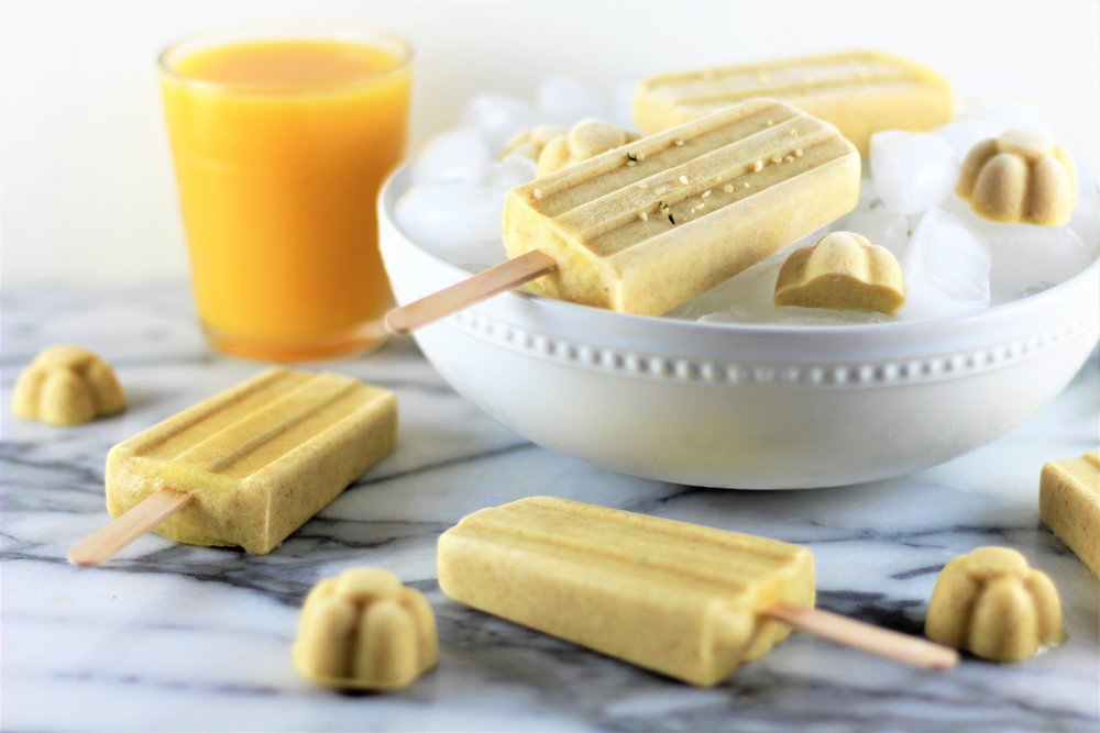 No Added Sugar Orange Creamsicles
