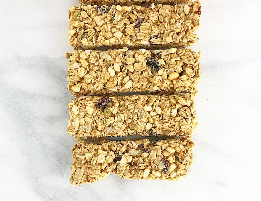 2-ingredient Granola Bars