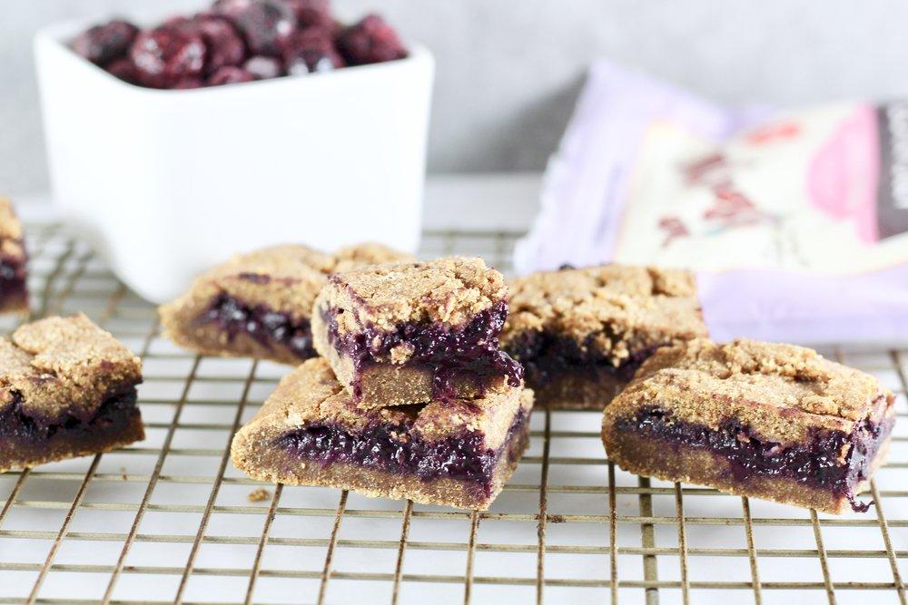 Paleo Blueberry Breakfast Bars