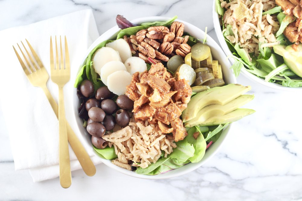 Easy Weeknight BBQ Veggie Salad