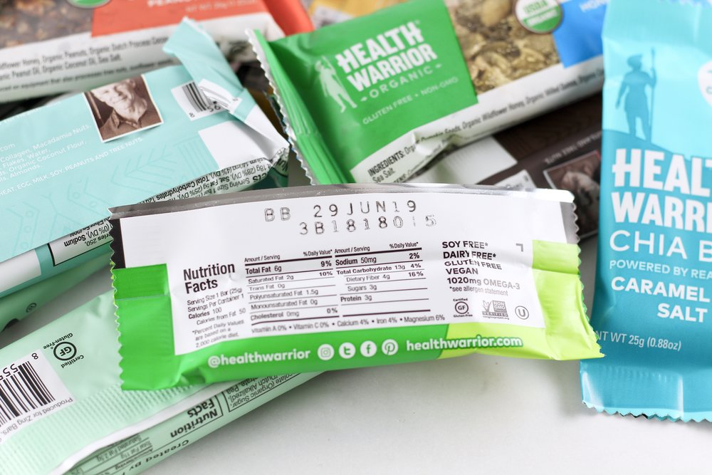 what to look for in a healthy snack bar