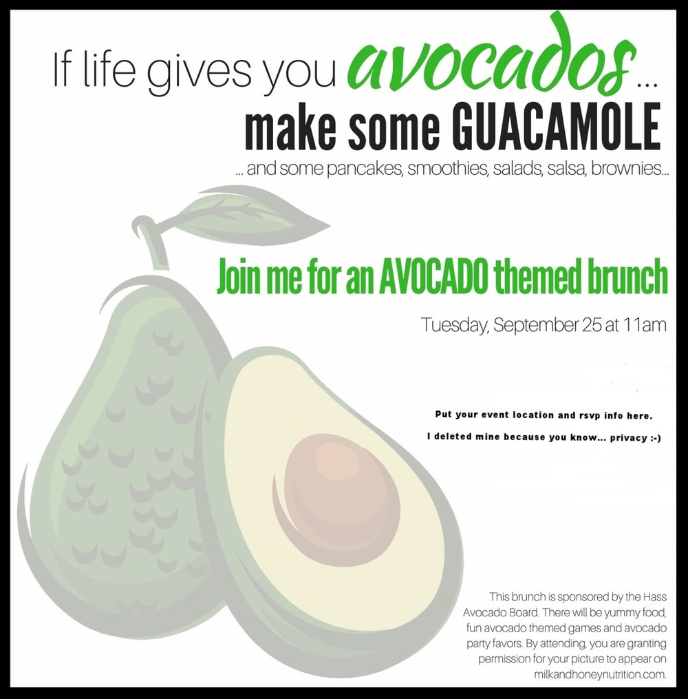 How to host an avocado brunch