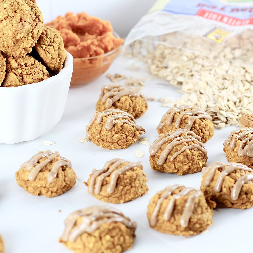Flourless Pumpkin Spice Cookies