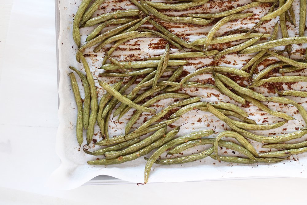 Basic Balsamic Green Beans
