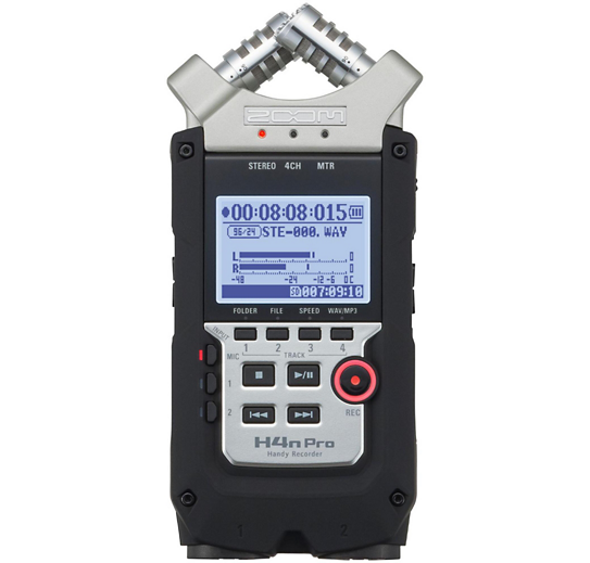 Zoom h4n - Audio Recorder