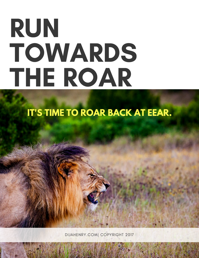 An African proverb tells children to run towards the roar because it's actually the best bet for making it out alive when you see a lion. I take that principle and apply it to making forward movement in life. Check out this three day course that will change your life...FOREVER. -
