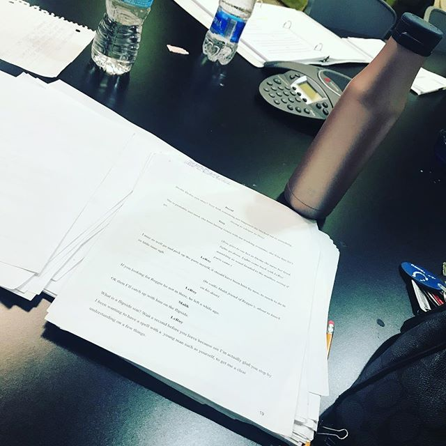 Last night's rehearsal for our play Too Good to be True was so much fun. Everyone's been working really hard to bring these amazing characters to life and share an impactful story with you all. Shows will be coming up April 2019. Written and directed by Lanetta Kennedy of the Kennedy Project. Produced by @kaidydid_productions #blacktheater #creativelife