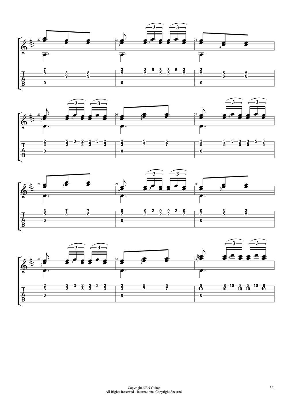Etude No. 10, Op. 60 - Carcassi (Sheet Music & Tabs)-p5.jpg