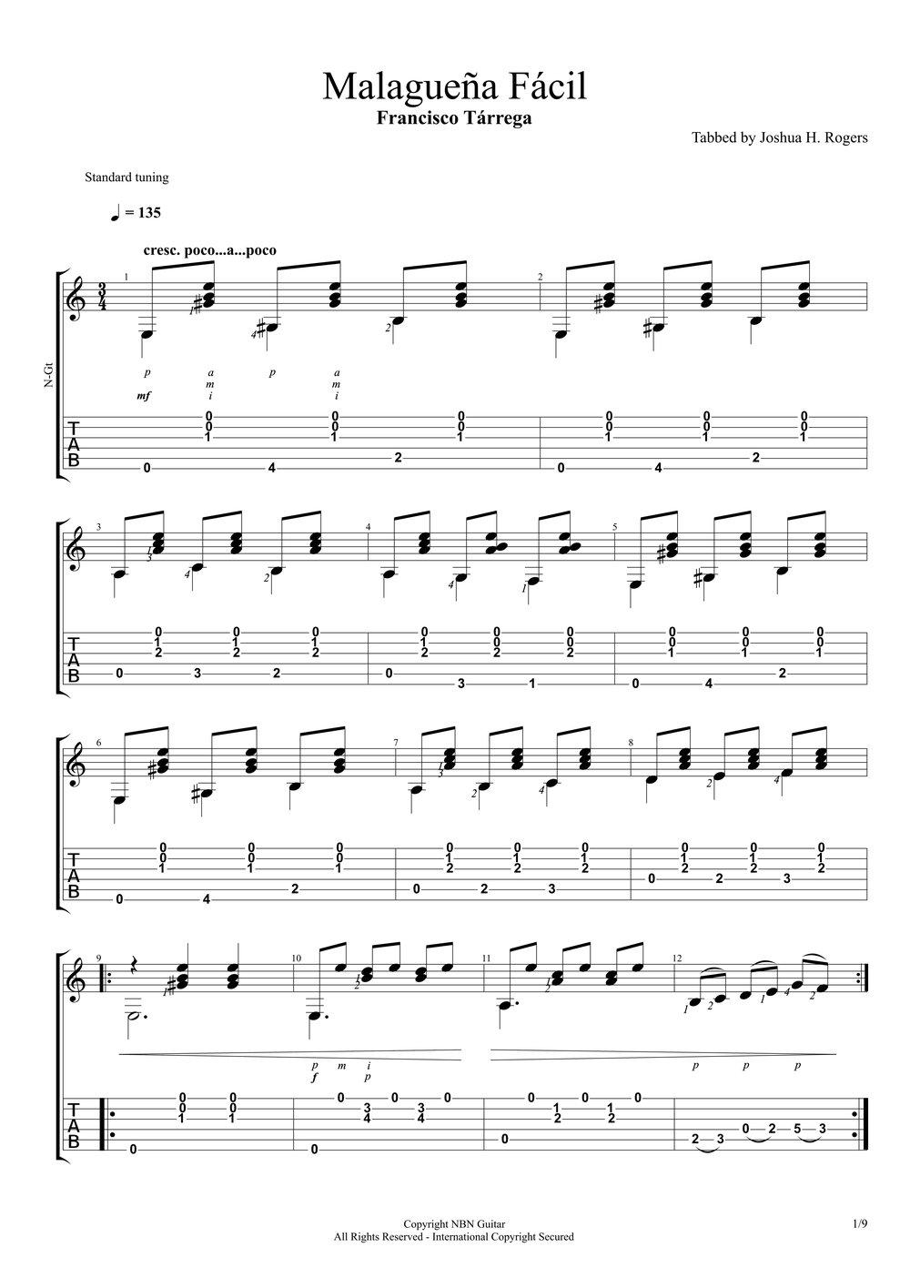 Malagueña Facil (Sheet Music & Tabs)-p03.jpg