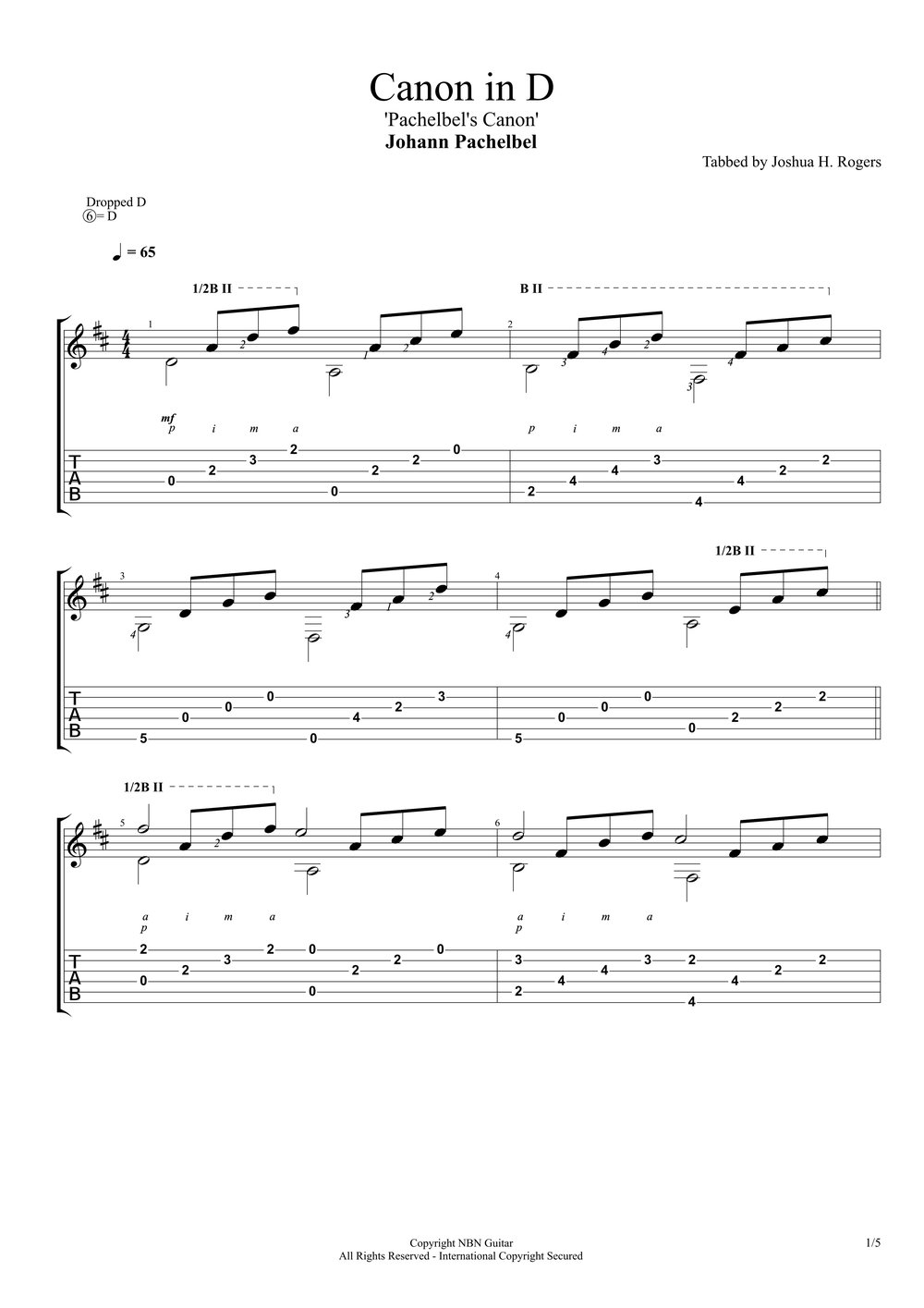 Pachelbel's Canon in D (Sheet Music & Tabs)-p3.jpg