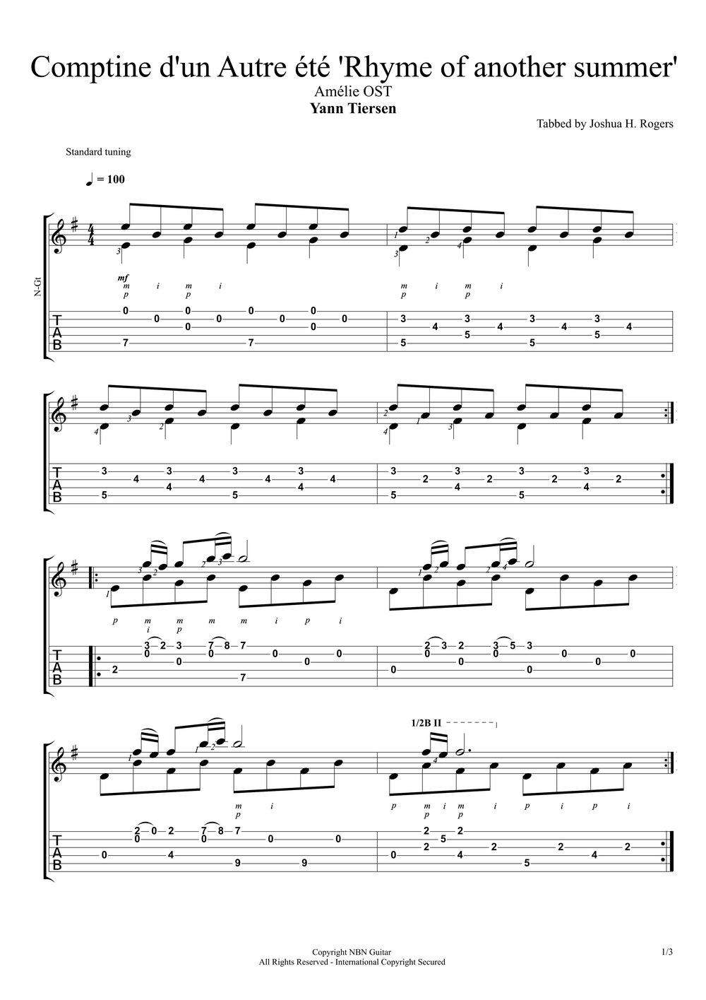 Comptine d'un Autre éte (Sheet Music & Tabs)-p3.jpg