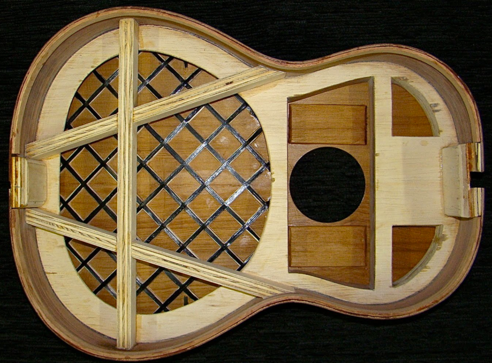 Smallman type lattice bracing eg