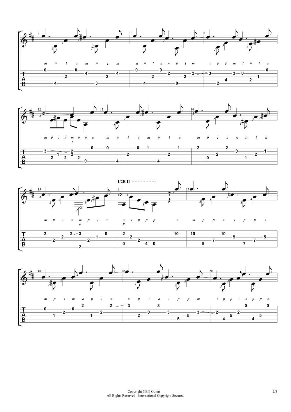 Study in D (Sheet Music & Tabs)-p3.jpg