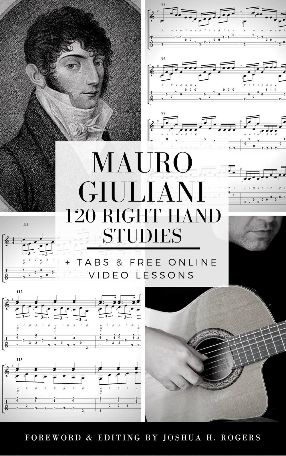 Mauro Giluliani 120 Right-Hand Exercises e-Book