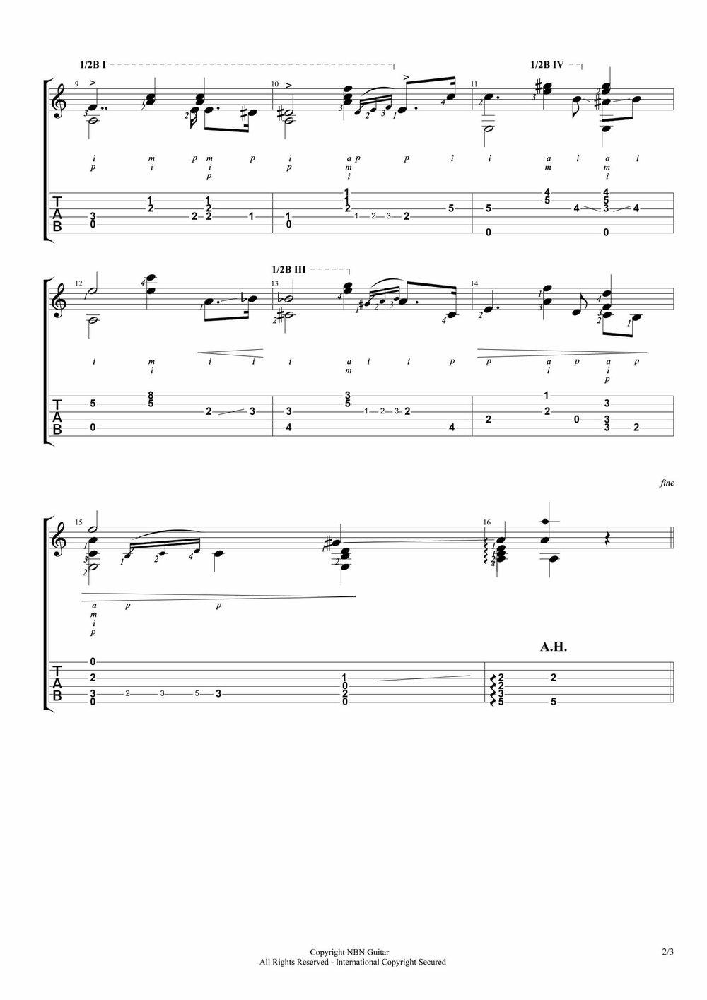 Marieta 'Mazurka' (Sheet Music & Tabs)-p2.jpg