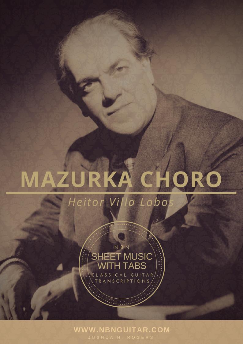 Mazurka Choro Online Classical Guitar Lesson — NBN Guitar