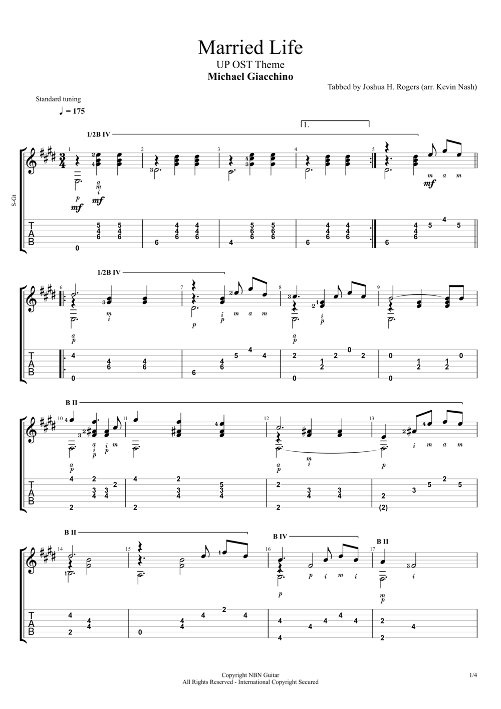 Married Life (Sheet Music & Tabs)#1.png