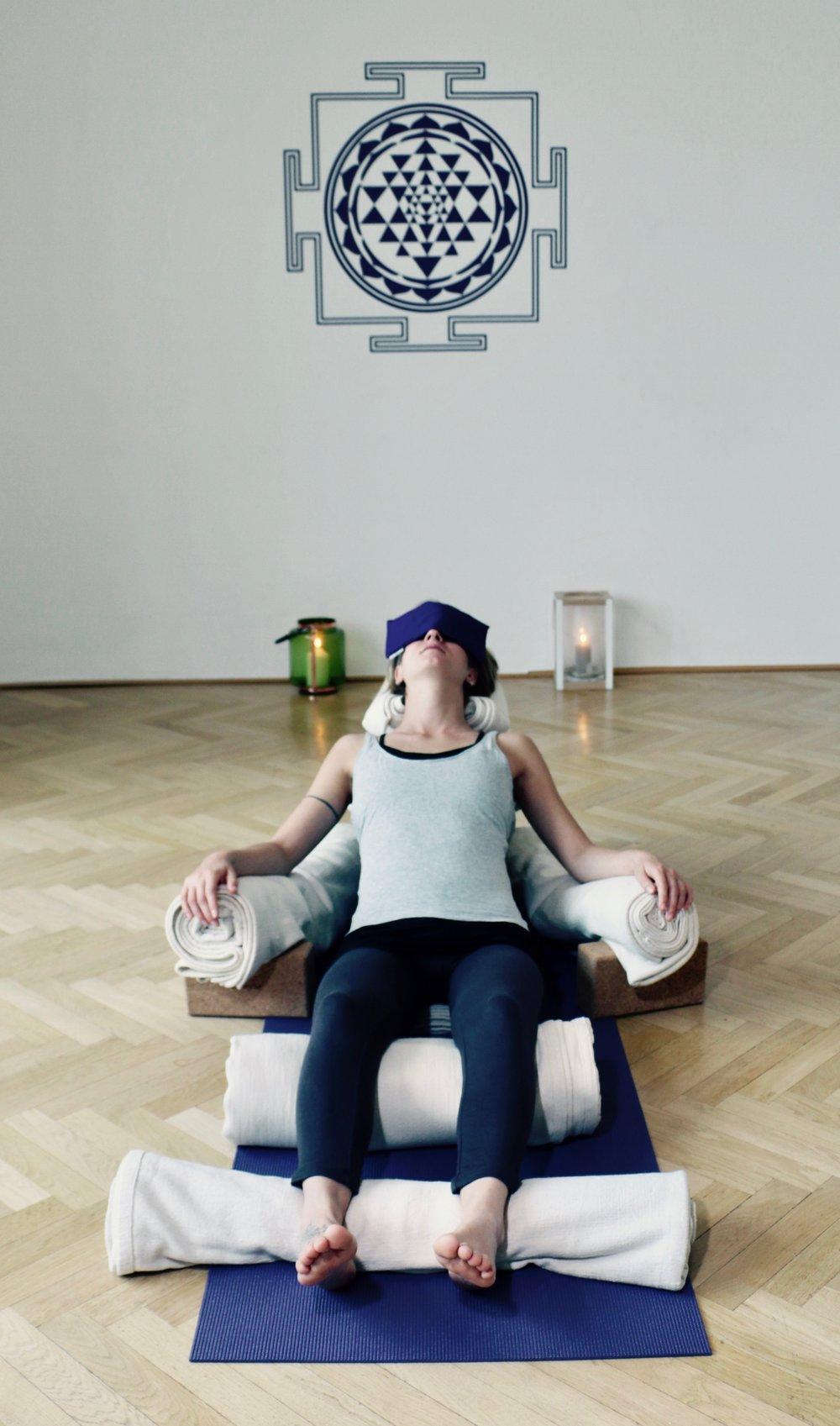 Restorative Yoga at E5: every Friday 4pm