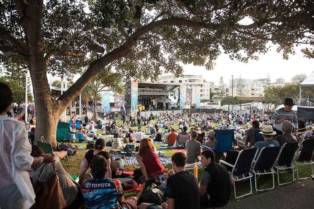 Caloundra Music Festival 2018, Soul Stage