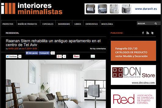 interiores minimalistas  |  2014