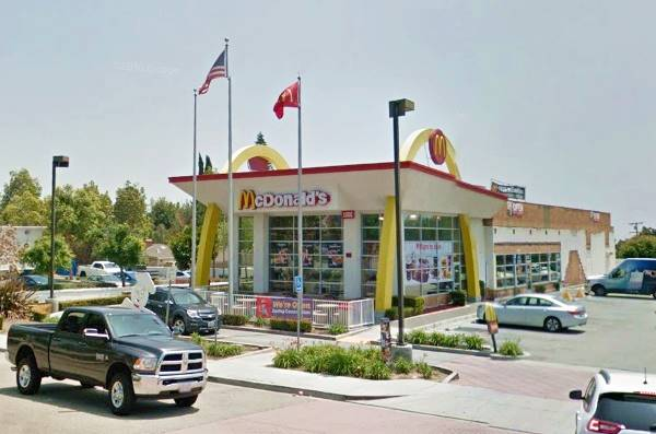 The McDonald's Golden Arches Building before is closed.
