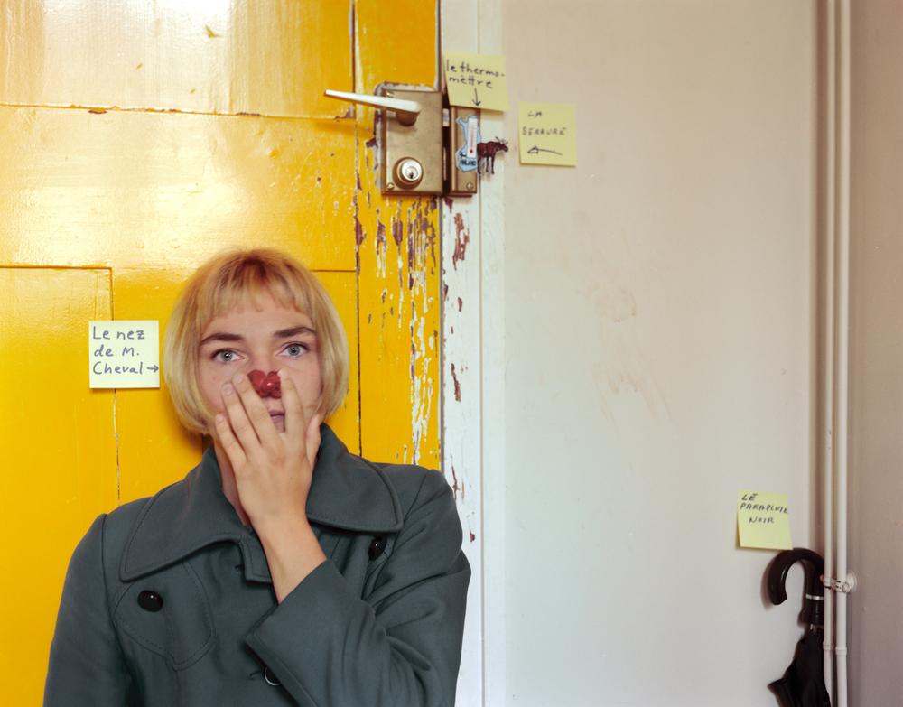 Le Nez de Monsieur Cheval 1999, 80x102 cm