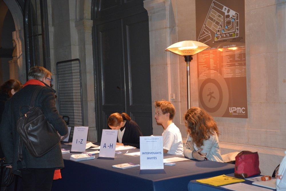 Accueillis par les étudiants de l'EPP de Paris