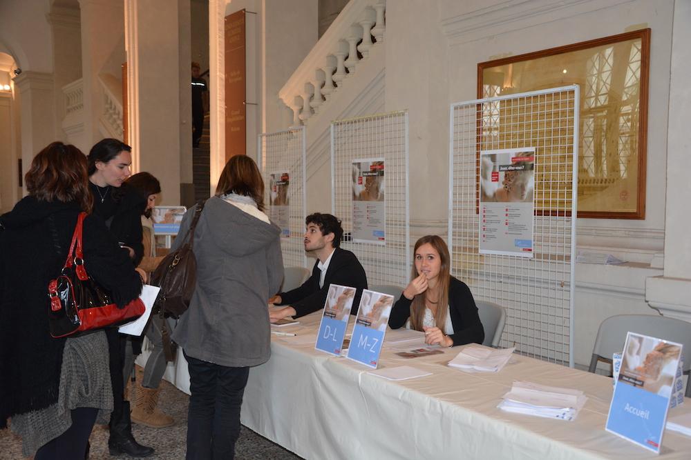 Accueillis par les étudiants de l'EPP de Lyon