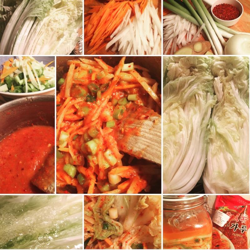 Bentes fermentering -Kimchi