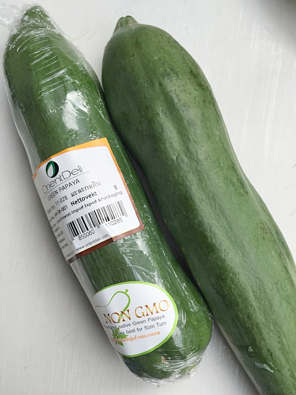 Papaya grønn NON GMO