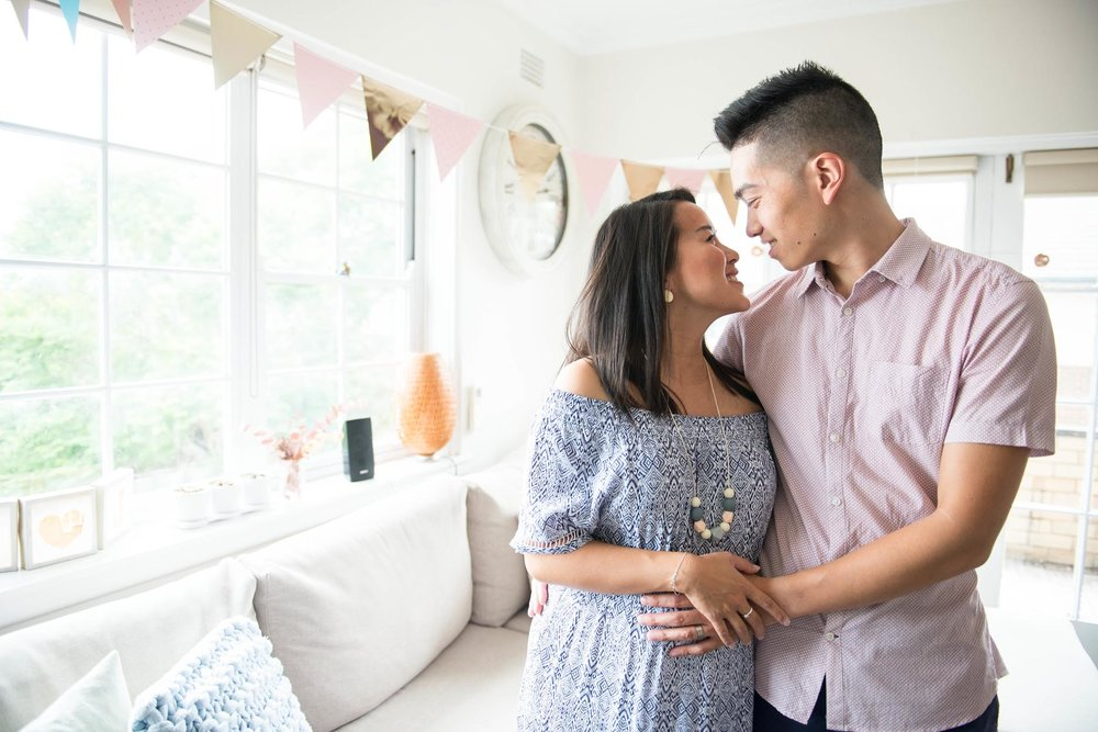 Jess & Adrian's gender reveal party